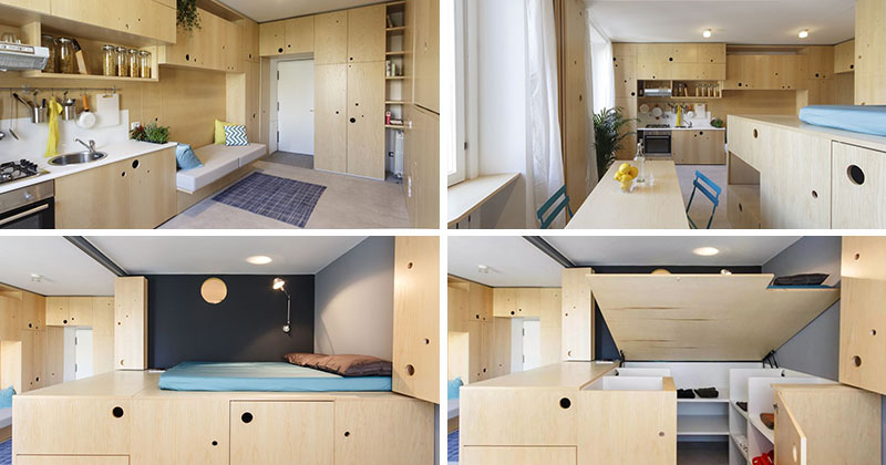 This Small Apartment Is Filled With Creative Ideas To Maximize Living Space