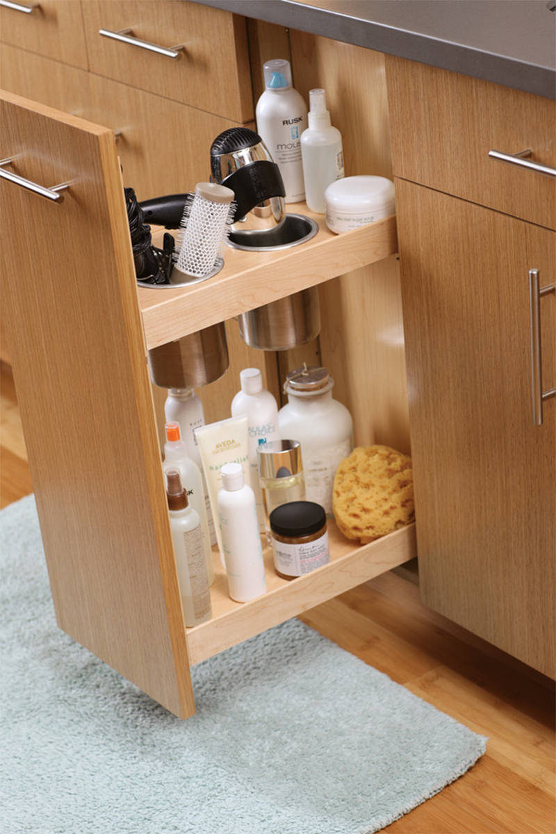 7 Bathroom Storage Ideas For Hair Tools Contemporist