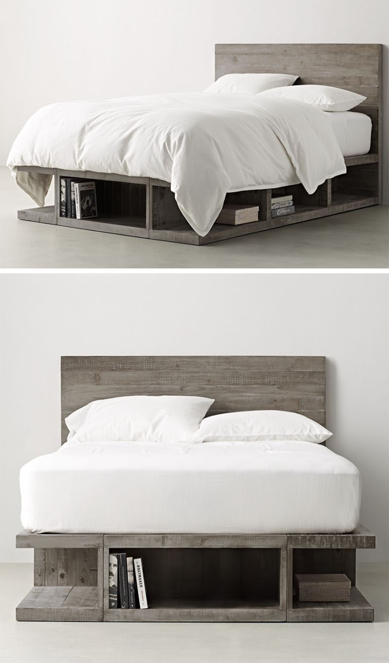 Lax Series Platform Bed 9 ideas for under-the-bed storage