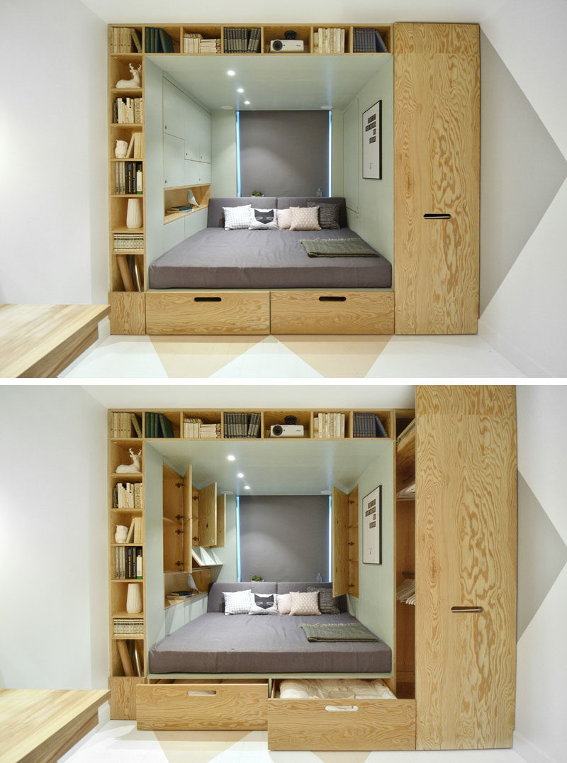 9 Ideas For Under The Bed Storage This Takes Built In