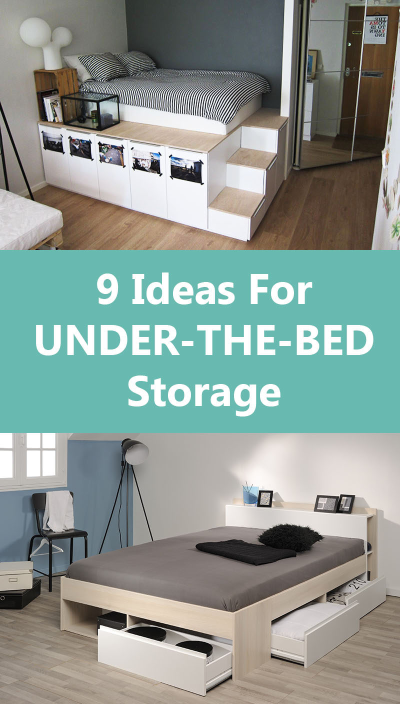 9 ideas for under the bed storage contemporist - Under the bed storage ideas ...