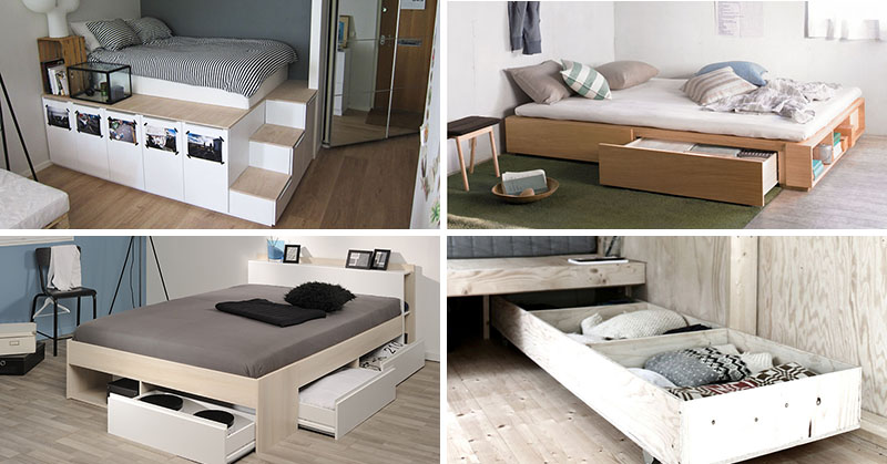 9 Ideas For Under-The-Bed Storage