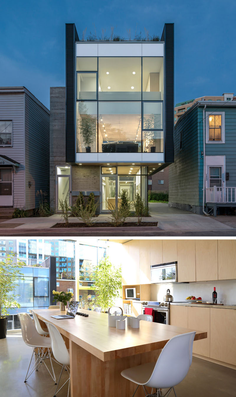 Celebrate Canada Day By Looking At These 10 Incredible Houses In Canada // 'King Street Live/Work/Grow', a mixed use building in Halifax, Nova Scotia, designed by Susan Fitzgerald Architecture.