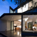Christopher Polly designs an angular rear extension for this house in Sydney