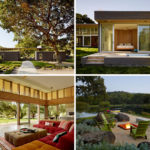 This new California home was designed for indoor/outdoor summer living