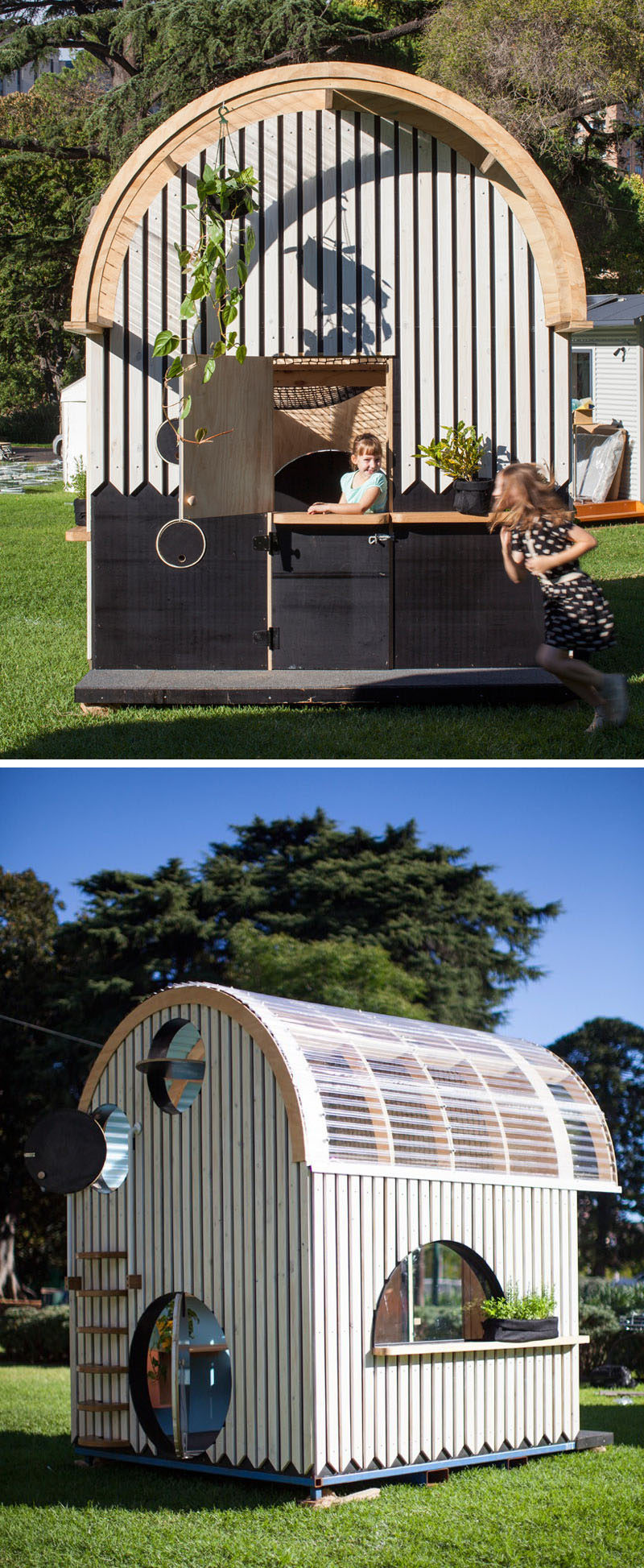 This Modern Playhouse Is Designed For Kids