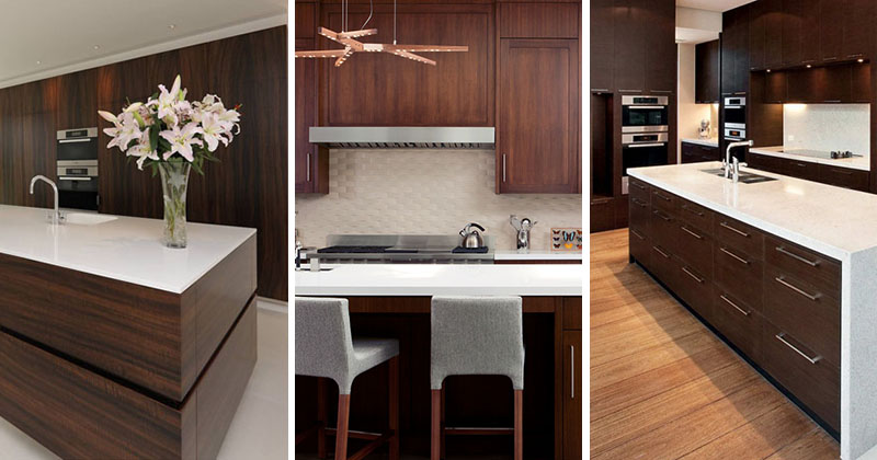 9 Inspirational Kitchens That Combine Dark Wood Cabinetry