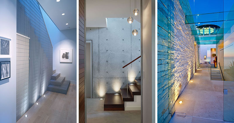 7 Interiors That Use Dramatic Uplighting To Brighten A Space