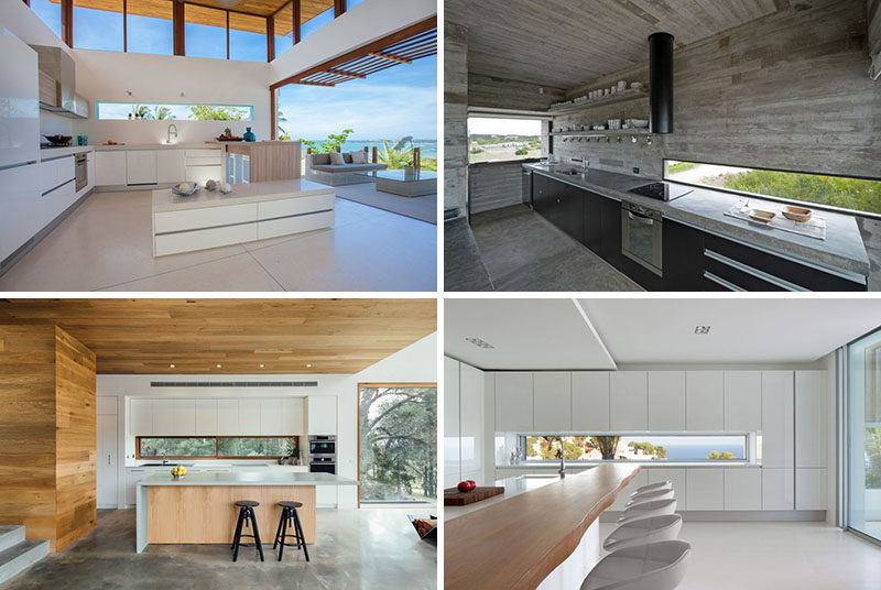 12 Inspirational Examples Of Letterbox Windows In Kitchens