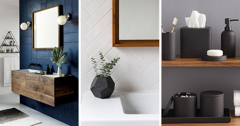 13 Ideas For Creating A More Manly Masculine Bathroom
