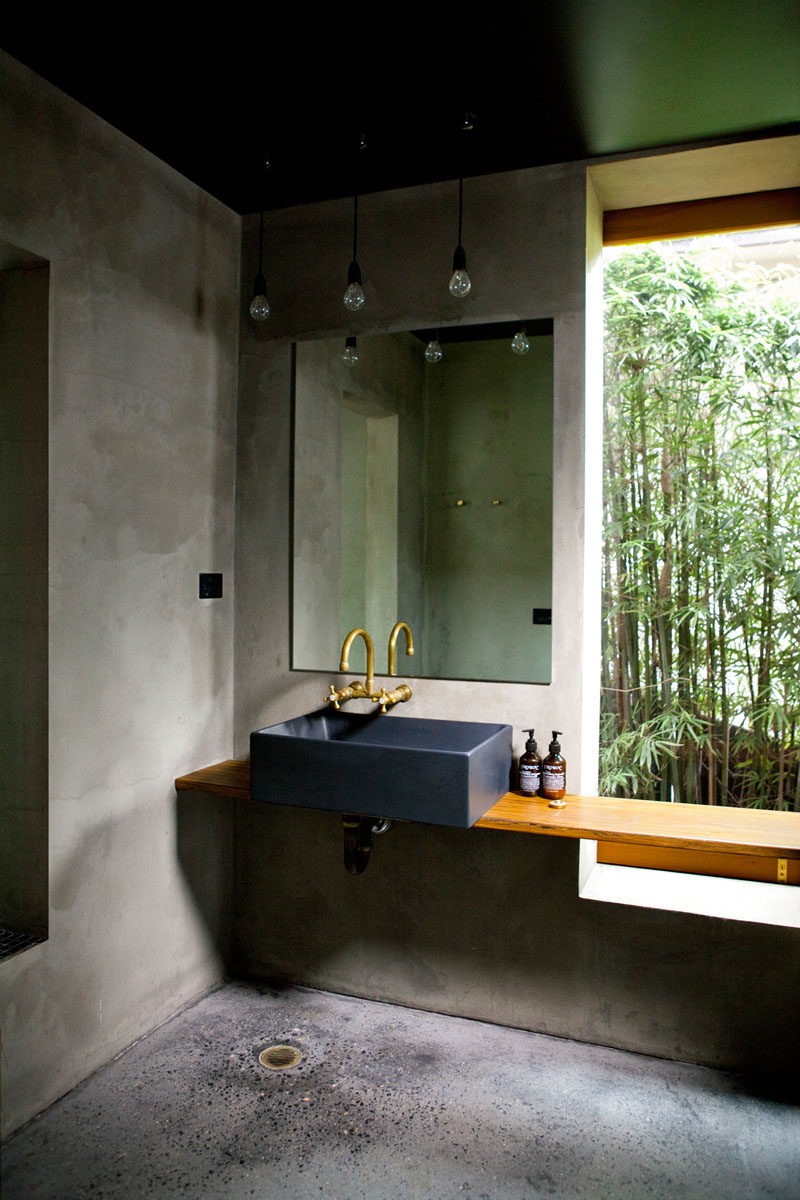 13 Ideas For Creating A More Manly, Masculine Bathroom // Anything industrial is a