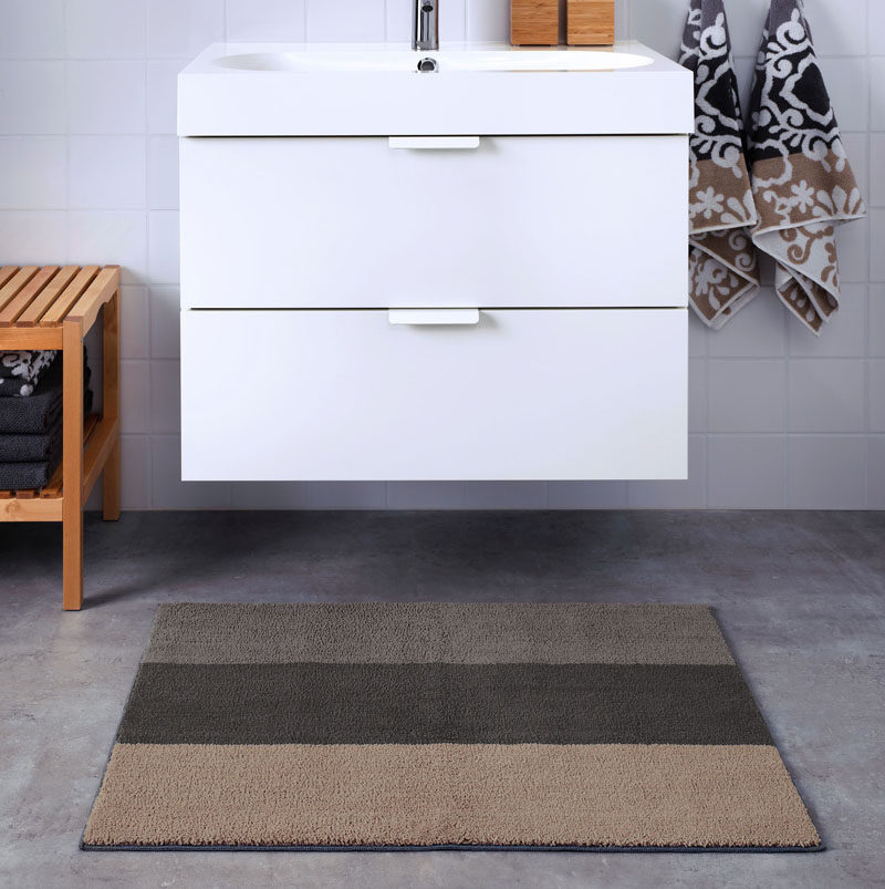 13 Ideas For Creating A More Manly Masculine Bathroom This Mat With Neutral