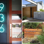10 Modern House Number Ideas To Dress Up Your Home