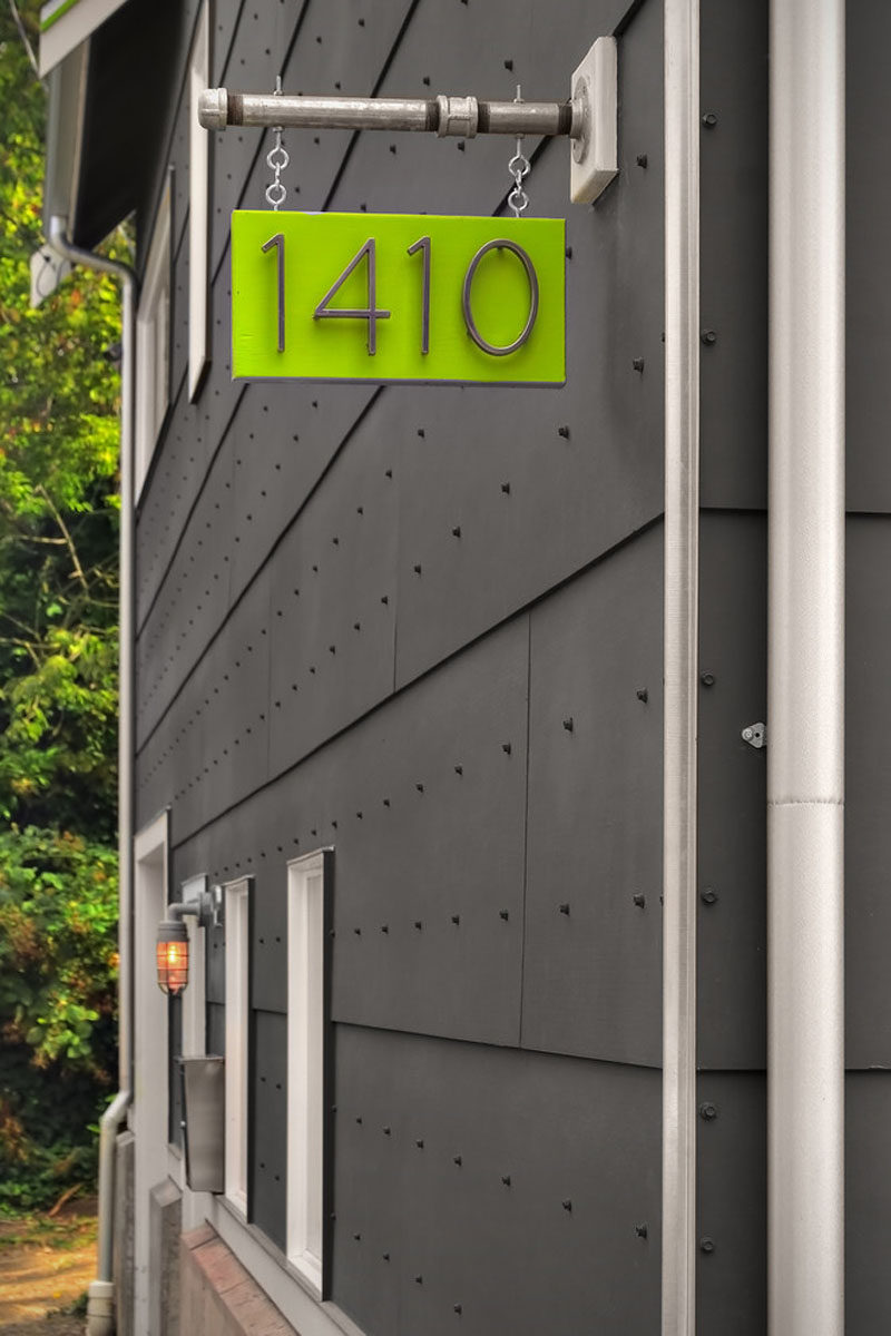 10 Modern House Number Ideas To Dress Up Your Home | CONTEMPORIST