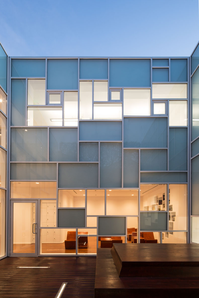 This Photography Museum Has Mondrian Inspired Window Layout