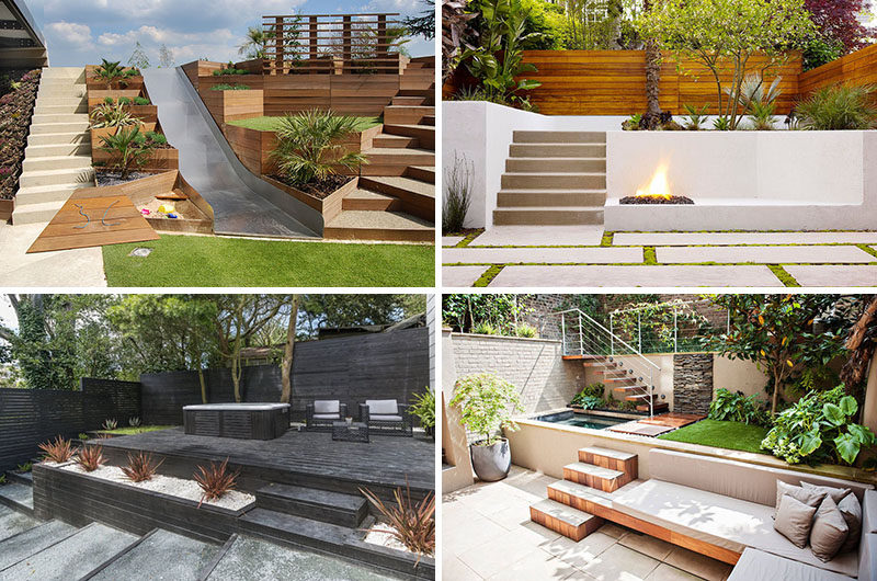 13 Multi-Level Backyards To Get You Inspired For A Summer ... on 2 Level Backyard Ideas id=18962