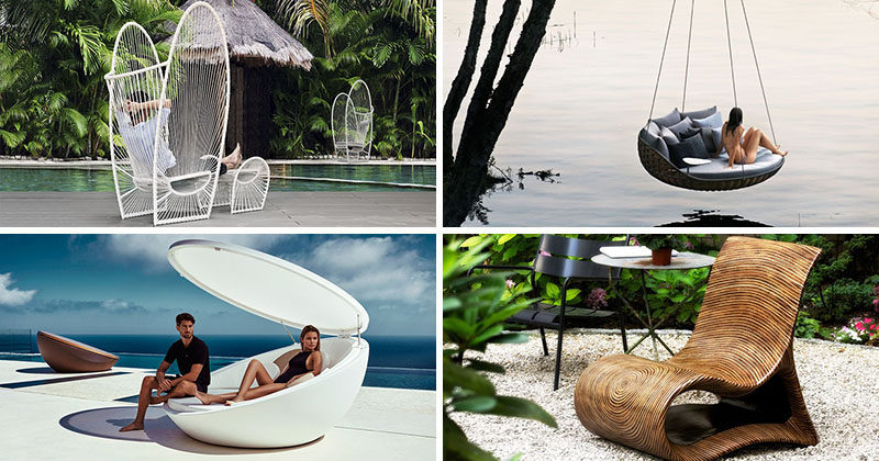 12 Outdoor Furniture Designs That Add A Sculptural Element To Your Backyard