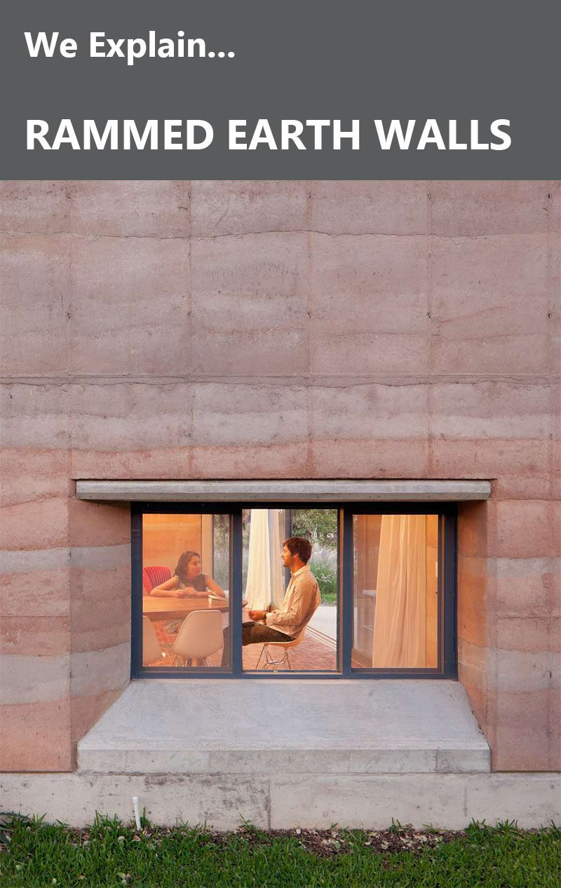 What Are Rammed Earth Walls? We Explain.