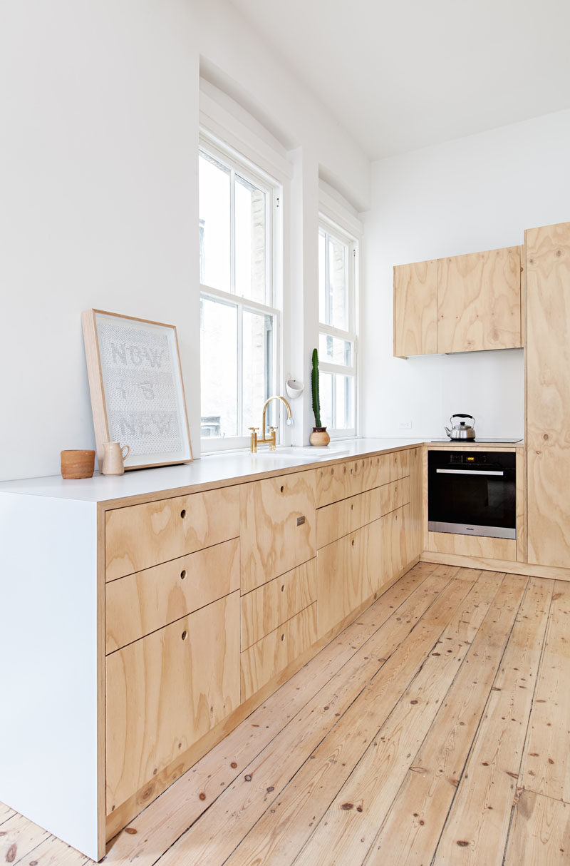 10 Key Features Of Scandinavian Interior Design // Wood -- Whether it's on the floor, on the walls, used to make cupboards or toys, Scandinavian design includes a lot of wood.