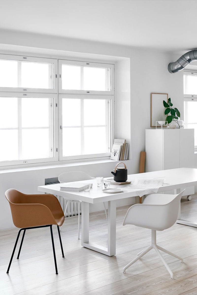 10 Key Features Of Scandinavian Interior Design // Clean Lines -- Modern, clean lined, solid pieces are much more common and are a defining feature of the Scandinavian design style.