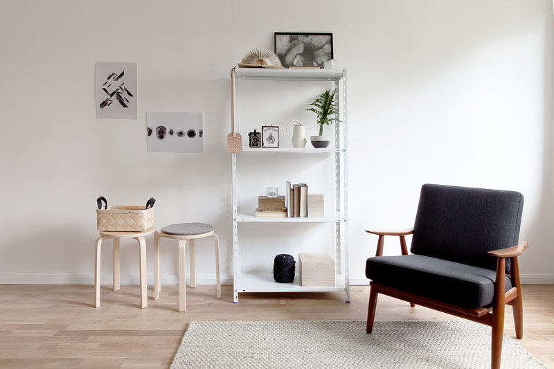 10 Key Features Of Scandinavian Interior Design // Decluttered Spaces -- While homes are being built larger now and there's more room for things, the idea of keeping a space free of clutter and mess has remained an important aspect of Scandinavian design.