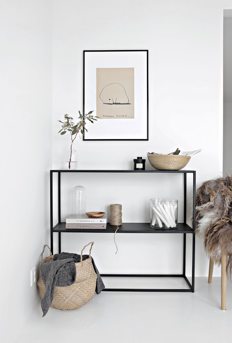 10 Key Features Of Scandinavian Interior Design // Simple Accents -- Decor  is kept