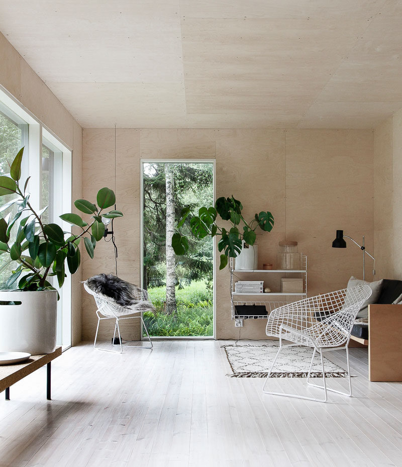 10 Key Features Of Scandinavian Interior Design // Greenery -- To help  brighten up