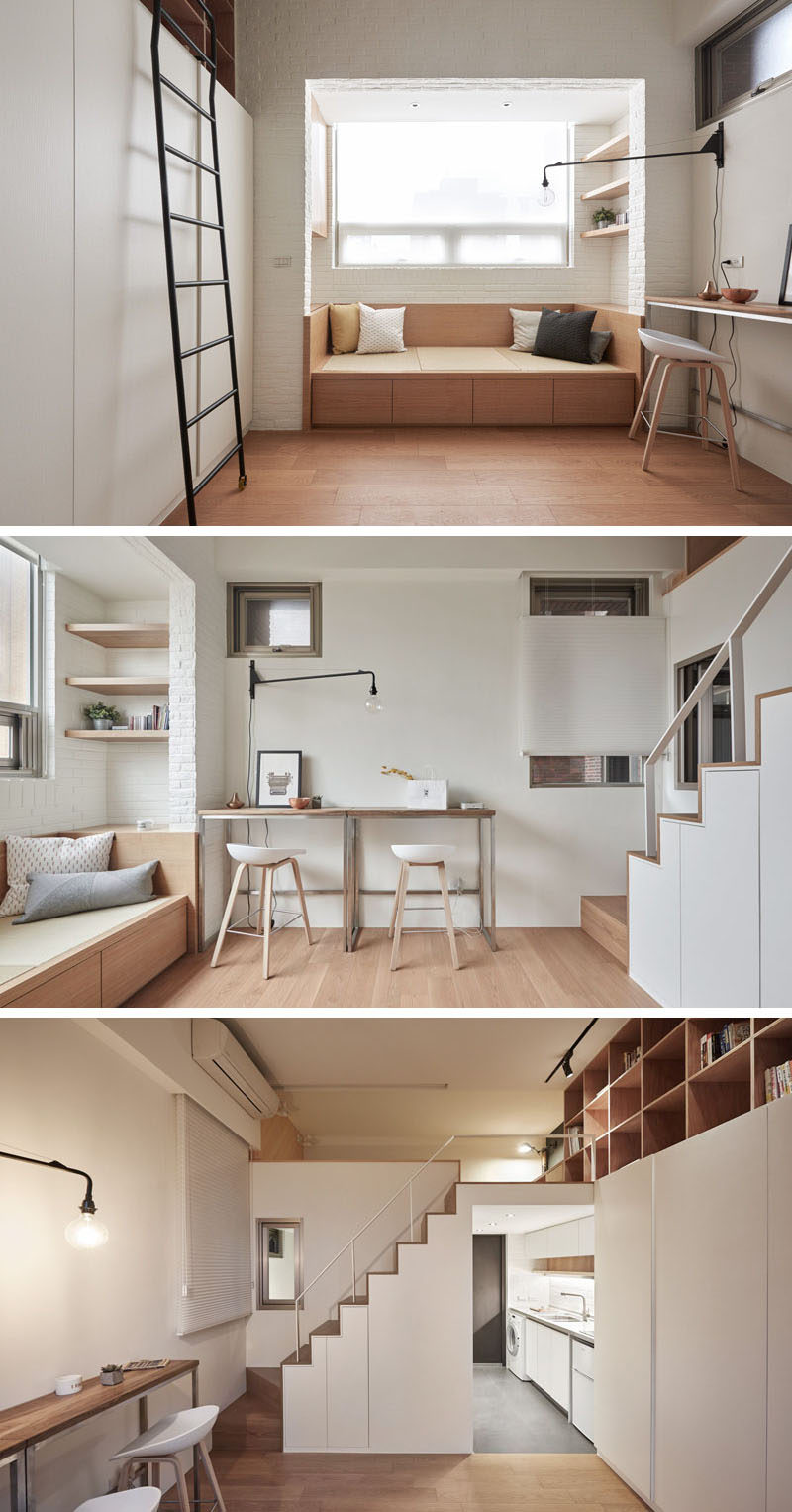 This Small Loft Apartment Is Designed To Include Everything They ...