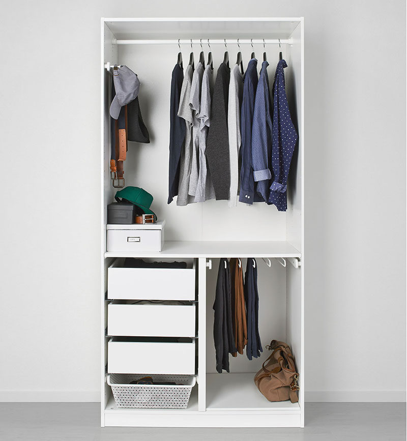 9 Storage Ideas For Small Closets // Rather Than Getting A Custom Closet  Makeover,