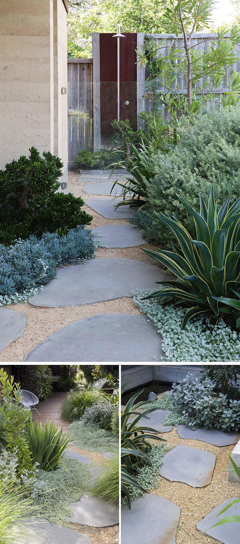 10 Ideas For Stepping Stones In Your Garden // These Large Stones Allow You  Get