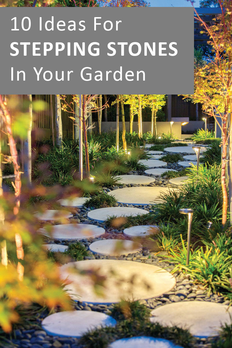 10 Ideas for Stepping Stones in Your Garden