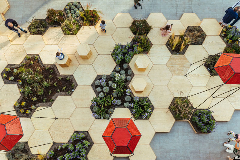 this urban garden named zighizaghi is a multi sensory garden made of two - Urban Garden