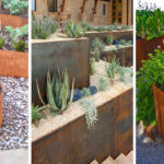 9 Ideas For Including Weathering Steel Planters In Your Garden