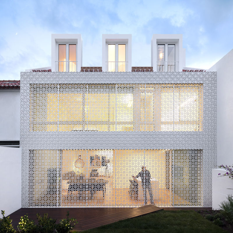 This Home Is Covered In A Security Screen With Style