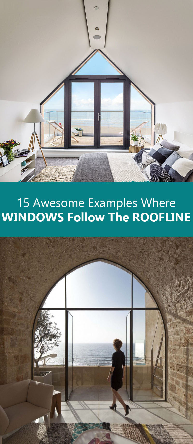 15 Awesome Examples Where Windows Follow The Roofline