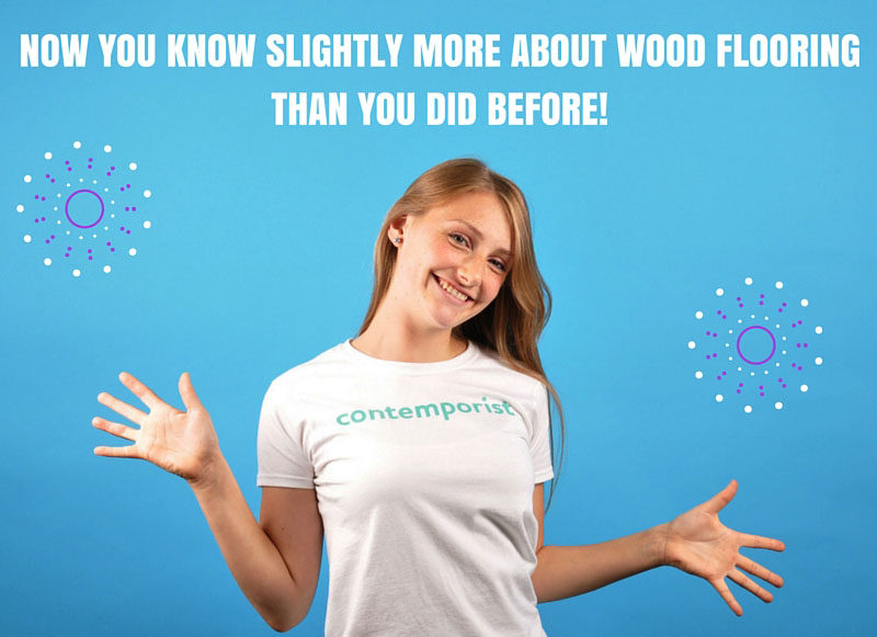 We explain the difference between wood flooring.