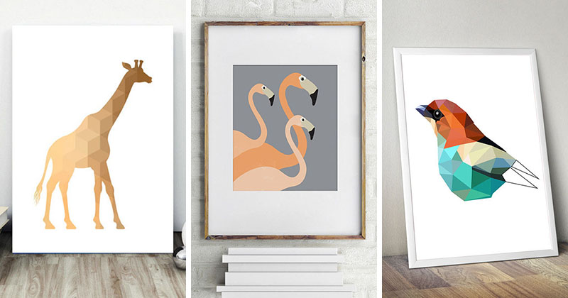 10 Contemporary Art Prints For Animal Lovers Contemporist