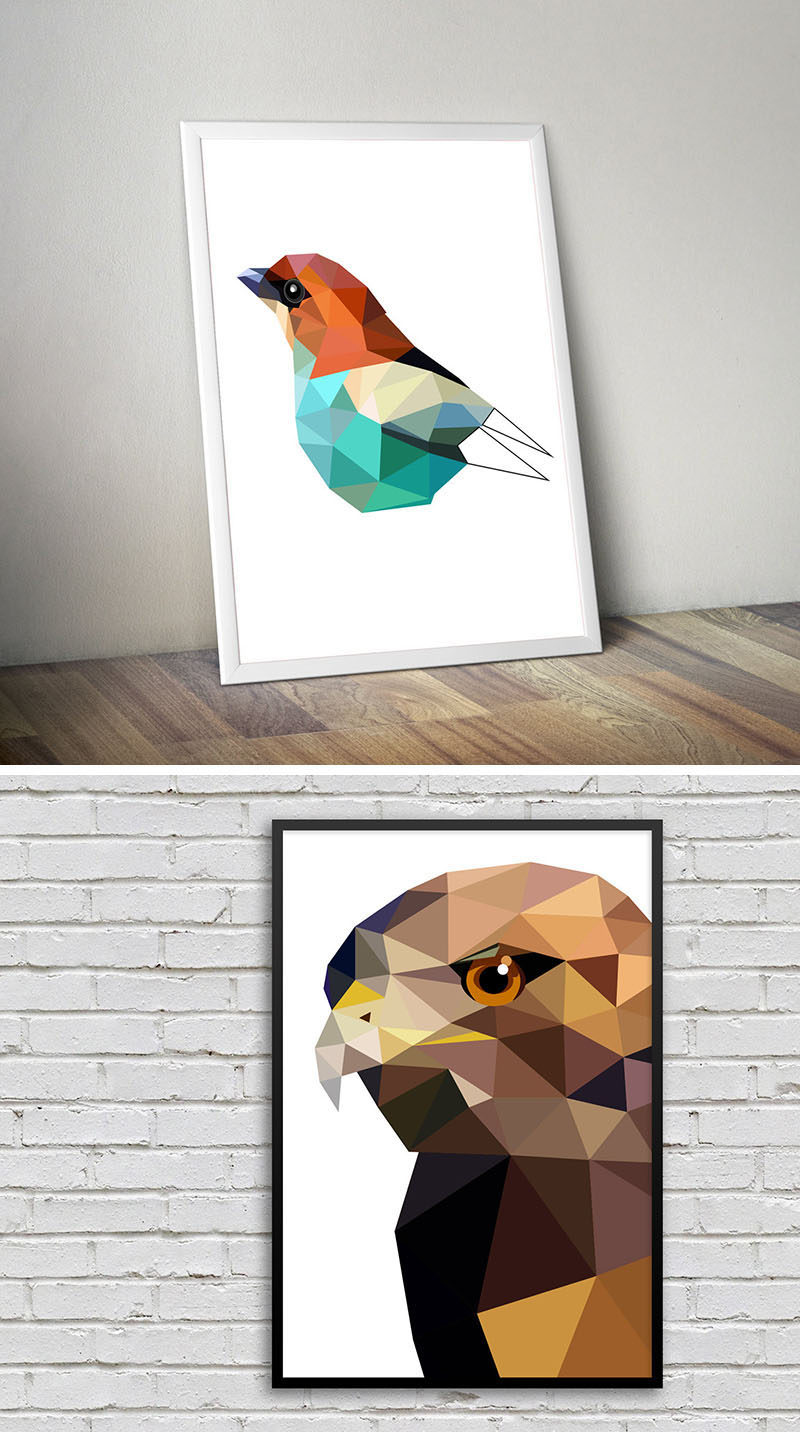 10 Contemporary ANIMAL ART PRINTS For Animal Lovers #AnimalArtPrints #ArtPrints #AnimalPrints