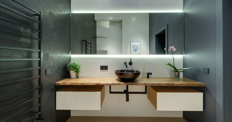 8 Reasons Why You Should Have A Backlit Mirror In Your Bathroom | CONTEMPORIST