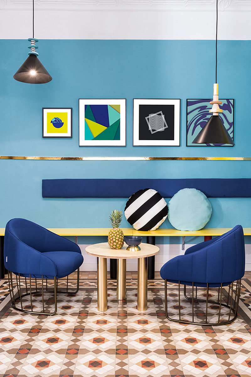 Wall Decor Inspiration Bold Graphics Cover The Walls Of