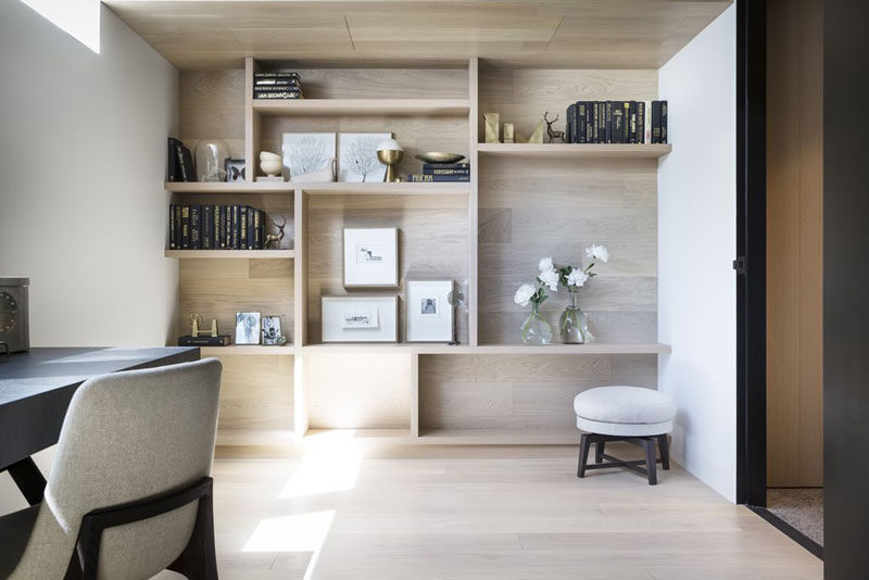 9 Ideas for Creating a Stylish Bookshelf // Picture Frames --- Including personal photos on your shelves individualizes your bookshelf and adds to the homeyness of your space.