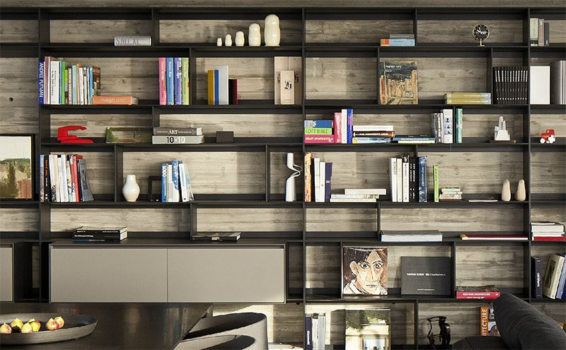 9 Ideas for Creating a Stylish Bookshelf // Beautiful Books --- Big, hardcover books with beautiful spines or covers are the ones you'll want to have sitting on your shelves.