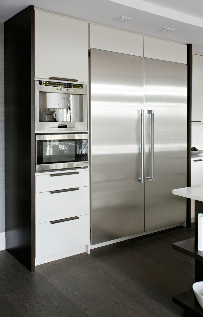 9 Inspirational Examples Of Built-In Coffee Machines CONTEMPORIST