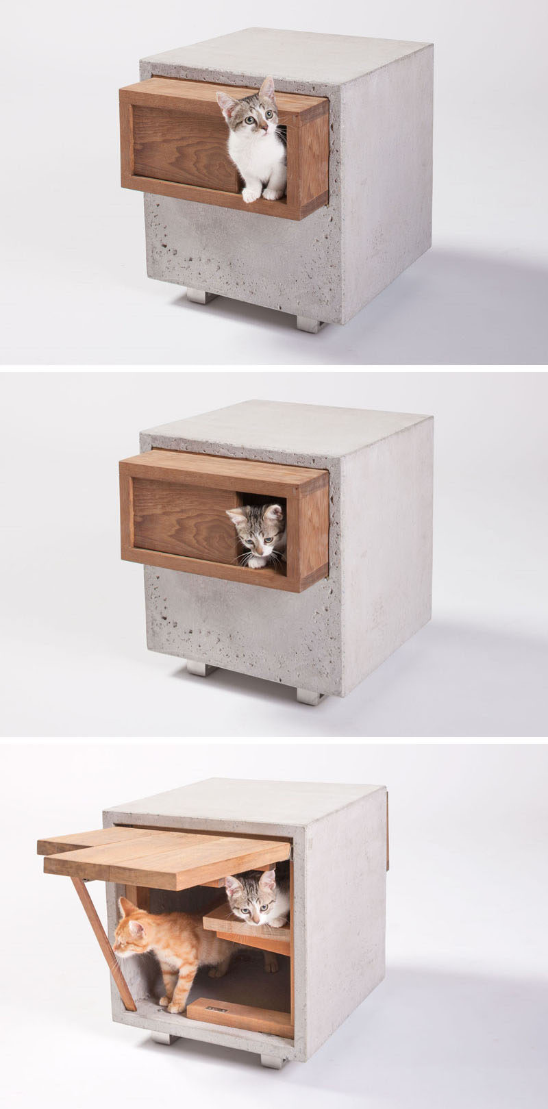 Picture of: 11 Cat Caves That Prove Cat Beds Can Be Stylish