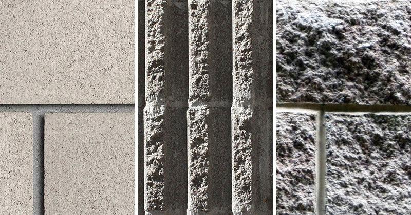 We Explain...The Different Styles Of Concrete Blocks