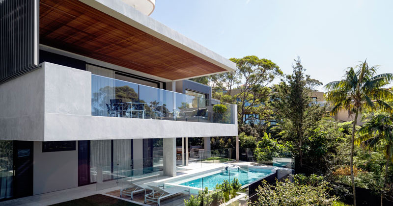 A new home designed to be modern but warm with a casual elegance