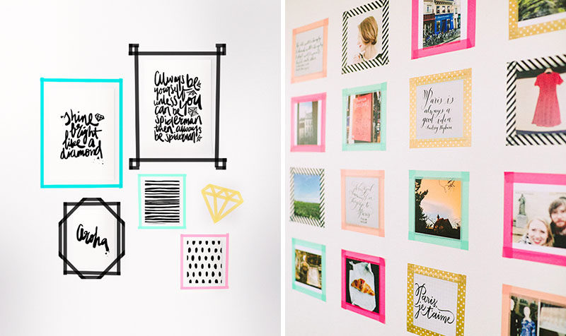 DORM ROOM Design Ideas And Must-Have Essentials // Washi Tape Decor Ideas