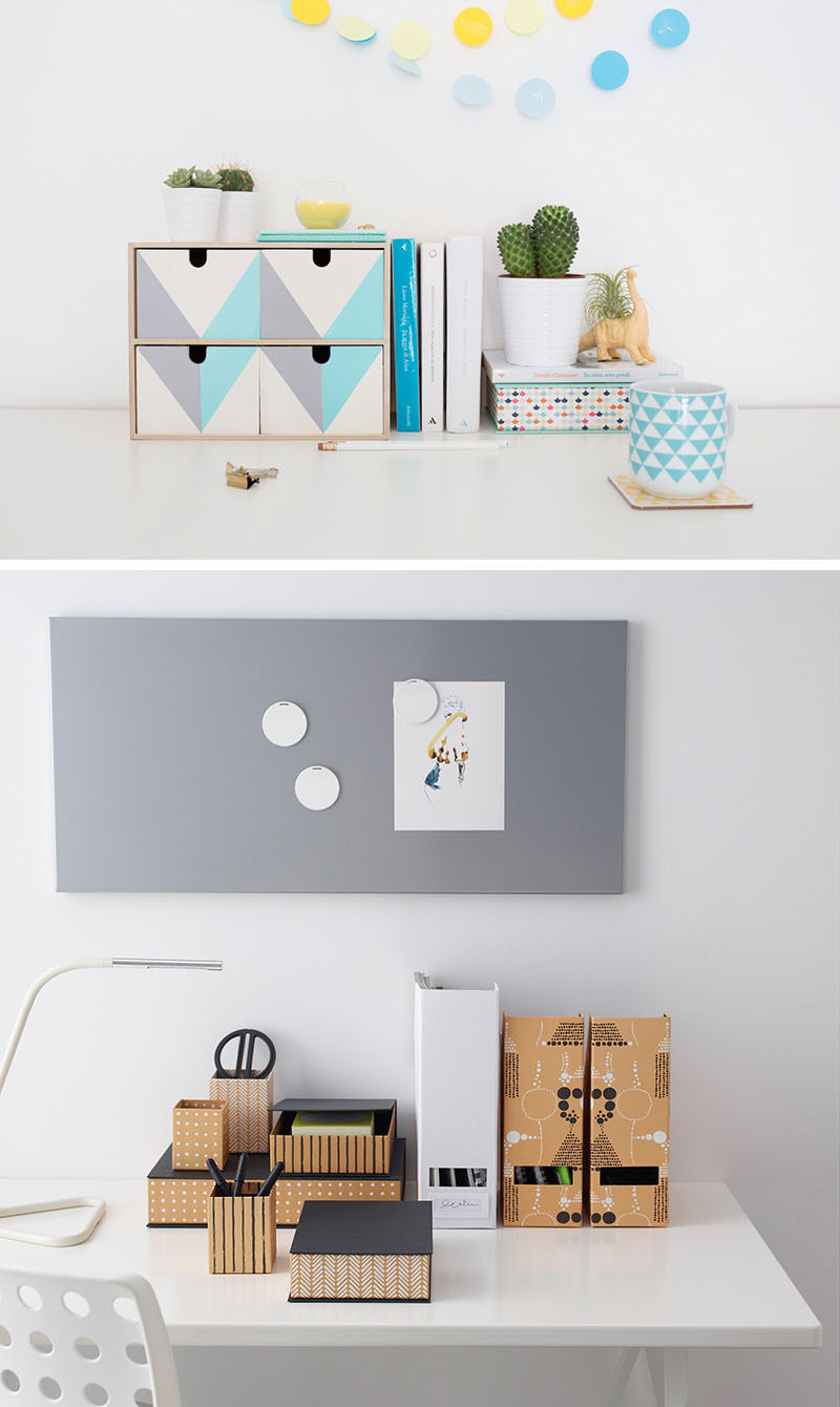 DORM ROOM Design Ideas And Must-Have Essentials // Desk storage and organization is a must!