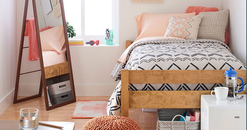 Dorm Room Design - Must-Have Essentials + Decor Ideas