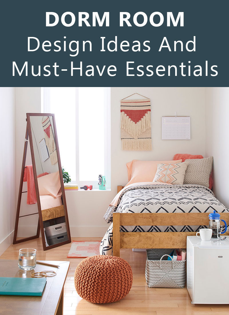 dorm room design ideas and must have essentials - Dorm Design Ideas